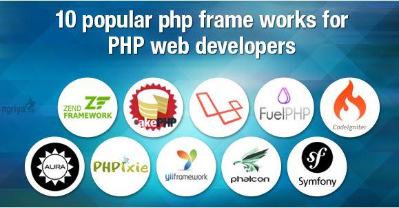 Top 10 Framework PHP tốt nhất cho các lập trình viên.