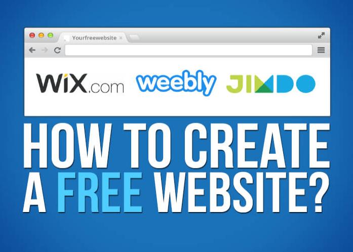 Top 5 trang web tạo website miễn phí