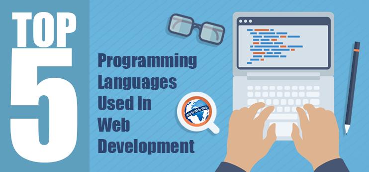 Top 5 ngôn ngữ lập trình website phổ biến nhất