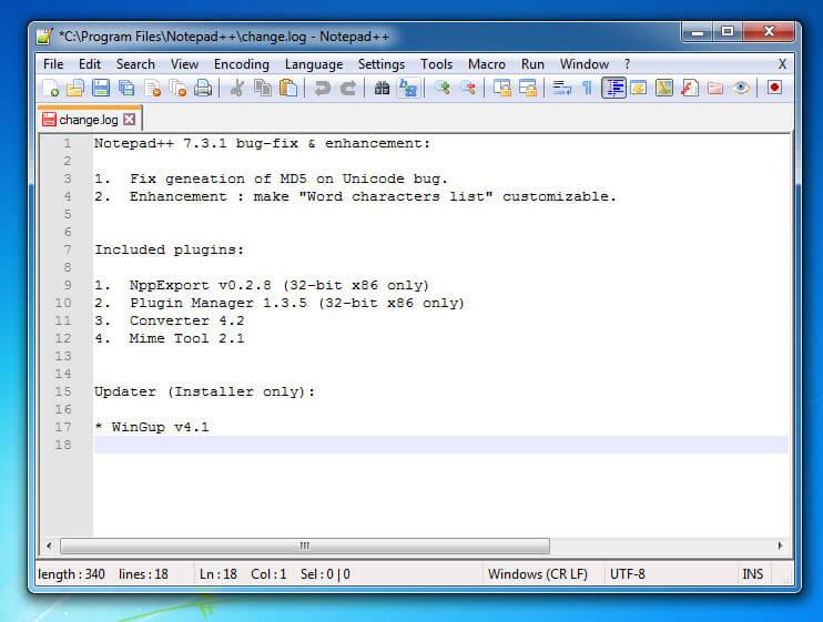 Phần mềm lập trình ngôn ngữ C Note pad++