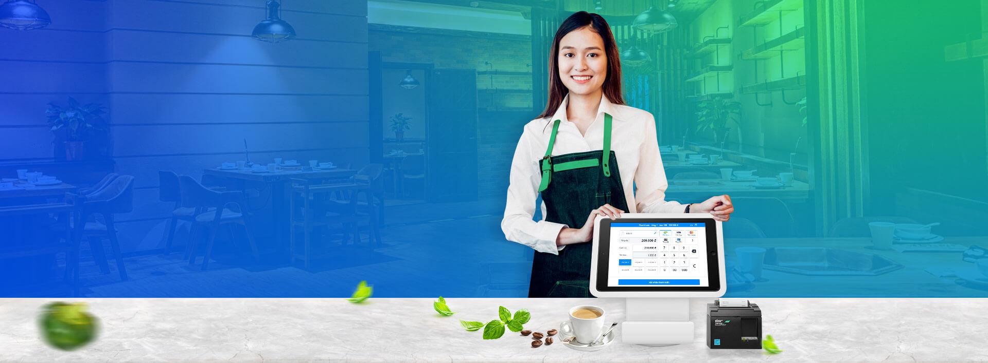 Phần mềm quản lý nhà hàng Sapo FnB