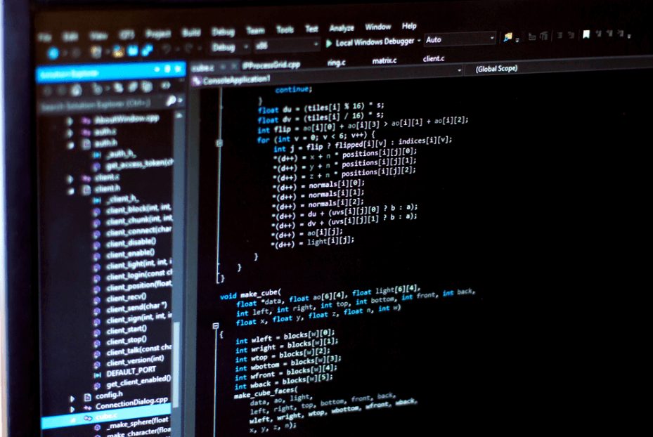 lập trình với các phần mềm hỗ trợ