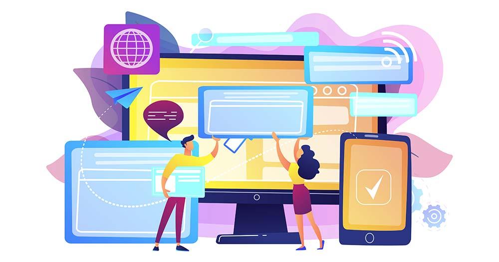 Khác biệt giữa website và web application