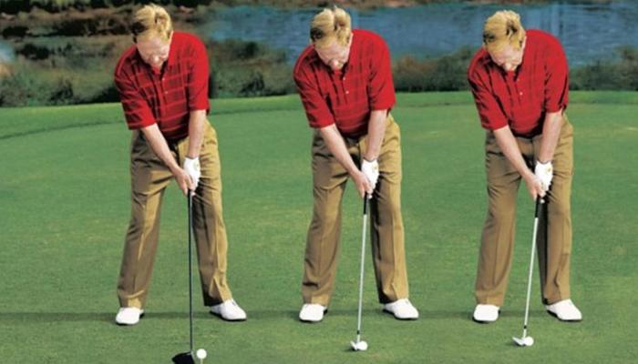 Tư thế chuẩn cho người chơi golf